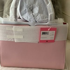 Kate Spade Pink Spencer Sachel, new with tags.